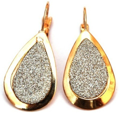 Jodhpuriyas GGP-399(C) Brass Huggie Earring