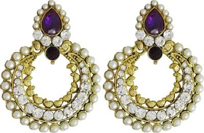 Aura Collection Statement19 Alloy Chandbali Earring