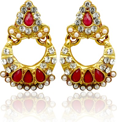 Ada Jewel Dangling Alloy Chandbali Earring