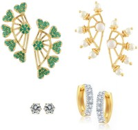 Archi Collection Style Diva Cubic Zirconia Alloy Earring Set best price on Flipkart @ Rs. 695