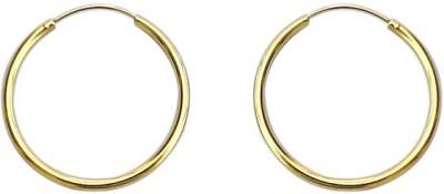 SuvidhaArts Designer Fashion Brass Hoop Earring