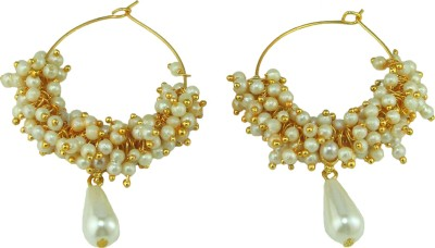 Dressme Designer Collections Mother of Pearl Hoop Earring