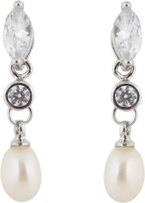 Janki Jewellers Royal Pearl Alloy Drop Earring