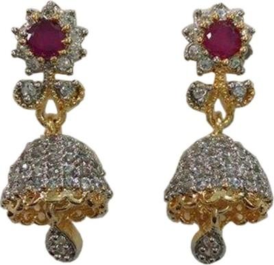 GJ Creations GJC Brass Jhumki Earring