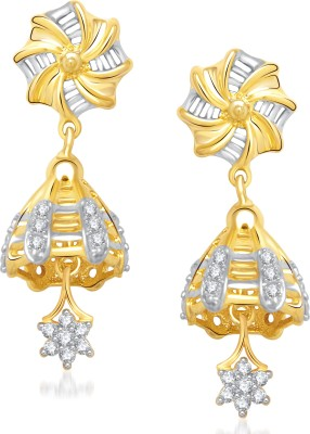 VK Jewels Gorgeous Cubic Zirconia Alloy Jhumki Earring