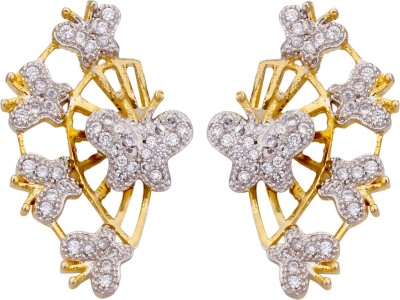 Fashion Frill Butterfly High Alloy Cuff Earring