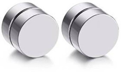 Vaishnavi First Quality Pair Never Rusts Original Non-Pierced Stainless Steel Magnetic Earring