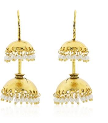 Cuzibox Fashionable Brass Jhumki Earring