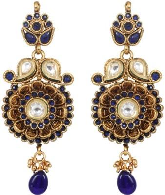Jewelfin Lovely Flora Alloy Drop Earring
