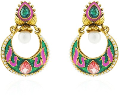 Sia Art Jewellery Metal Chandbali Earring