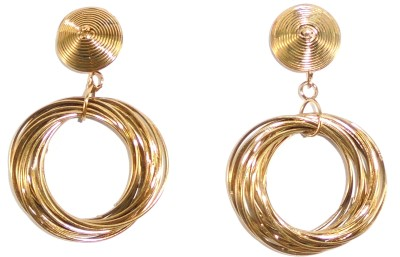 Adimani Lumen Alloy Drop Earring