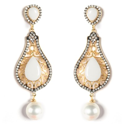 99HomeMart Ear12 Cubic Zirconia Alloy Drop Earring