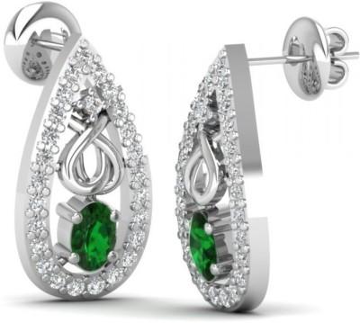 Joyra Lissome Swarovski Zirconia Sterling Silver Drop Earring