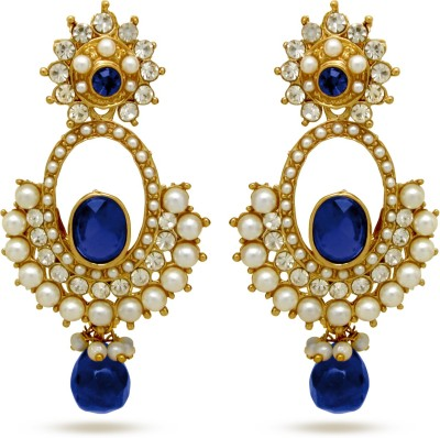 Donna Beautiful Berry Crystal Alloy Drop Earring