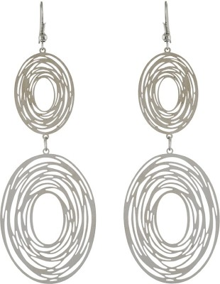 One Stop Fashion Attractive Silver Colour Alloy Dangle Earring