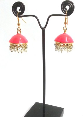 Kshitij Jewels Color Blast Alloy Jhumki Earring