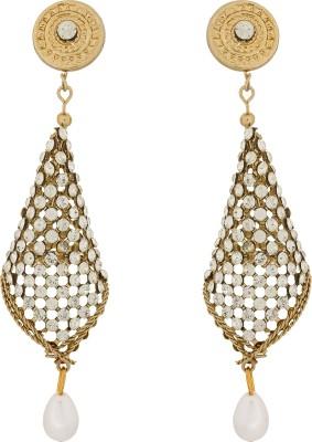 Pankh Diamond Designer Brass Jhumki Earring