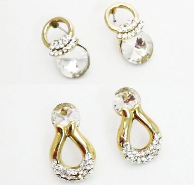 NEHASTORE Combo Offer CB24 Mother of Pearl Alloy Earring Set