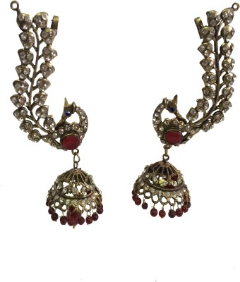 Sabtera ishra peacock Alloy Clip-on Earring