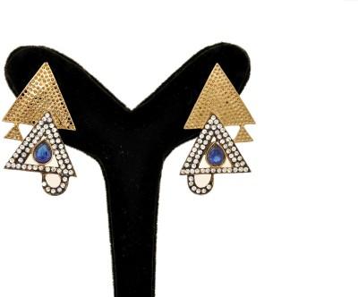 Arohi Jewells & Gems AJG12 Copper Earring Set