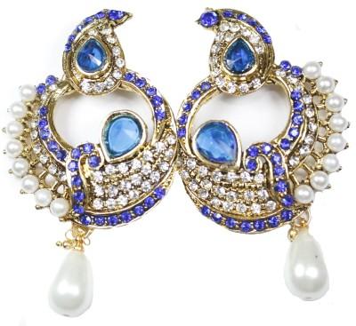 Navisha Trending Fashion Metal Chandbali Earring