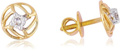 Jewels Choice Daily Wear s Diamond Gold Stud Earring