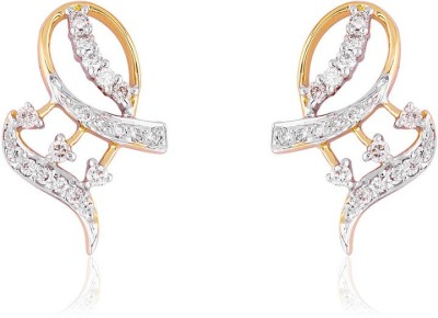Jewels Choice Daily wear Diamond Gold Stud Earring