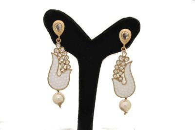 Arohi Jewells & Gems AJG4 Copper Earring Set