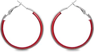 ToniQ Metal Hoop Earring