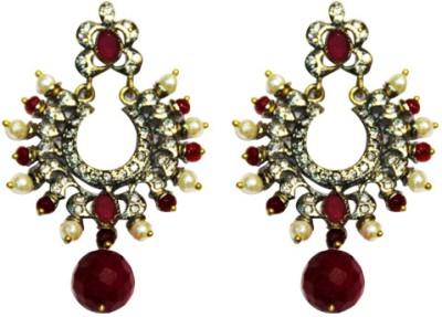 Amarsons Pearls Victorian Bali Alloy Drop Earring