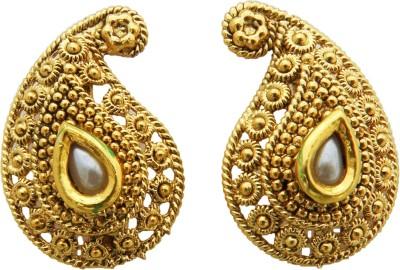 Shreyadzines Golden divine Alloy Stud Earring
