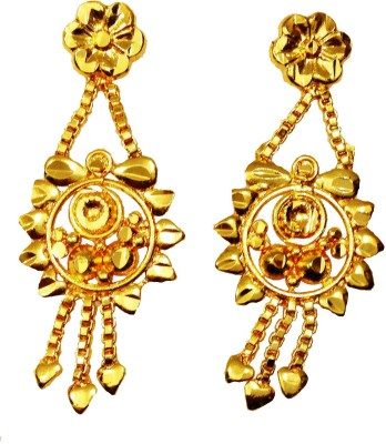 Mk Retail Designer Metal Drop Earring