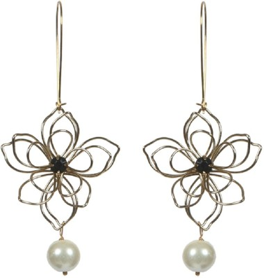 Envy Ladies Pearl Glass Dangle Earring