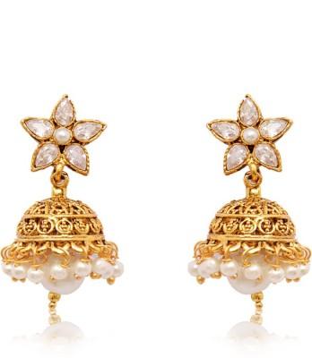 Ratnakar Attractive Small Zumkhi Earing Alloy Jhumki Earring