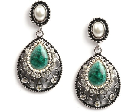 Rubans Stone Design Alloy Drop Earring