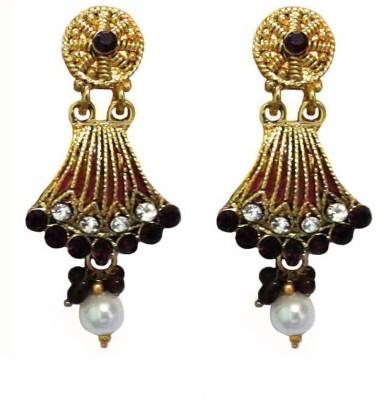 Shreya Collection Spring Sparkle Alloy, Metal Jhumki Earring