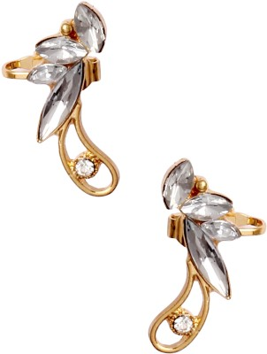 20Dresses Regal Affair Ear Clip Pair Alloy Cuff Earring