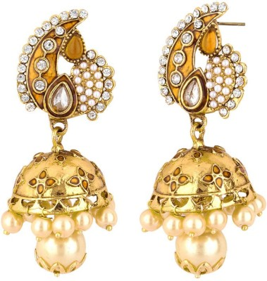 Styylo Fashion Bollywood Fashion Zircon Alloy Jhumki Earring