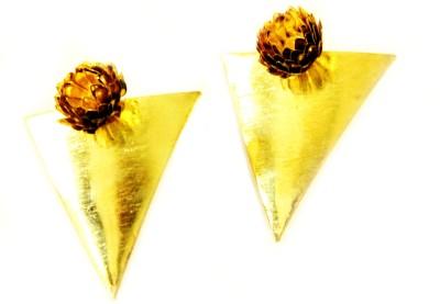 Ornamas Enamel, Aluminum Stud Earring