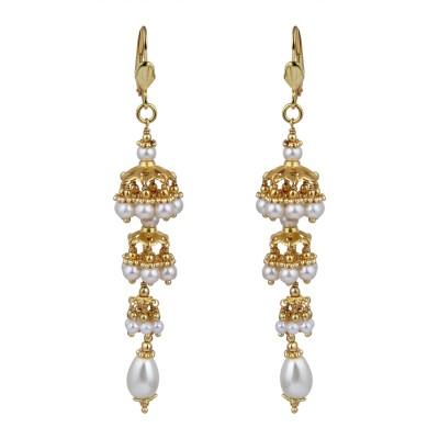 STUDIOB40 PREA Beads Alloy Chandelier Earring