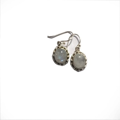 Masterpieces IMG_2715 Moonstone Silver Dangle Earring