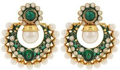 Jwells & More Ethnic Delight Alloy Chandbali Earring