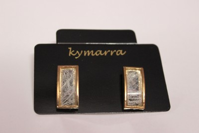 Kymarra Stone Love Brass Earring Set