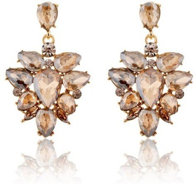 The Sparkle Connection Chandon Crystal Alloy Drop Earring
