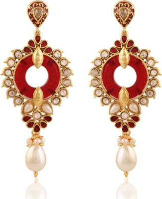 Panini Krishna Brass Drop Earring