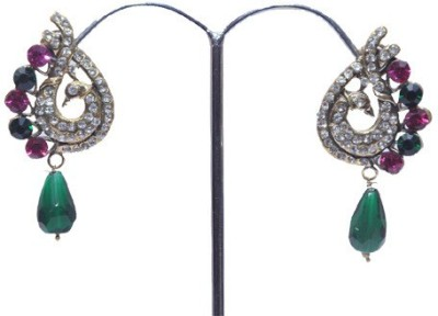 Buy Clues RCJ3039 Crystal Brass Drop Earring
