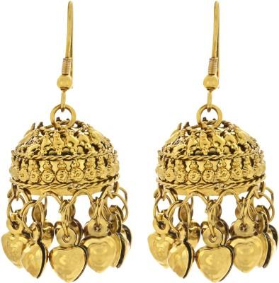 Aadyaa Collections Designer Alloy Jhumki Earring