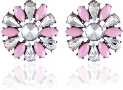 Vastradi Jewels Amazing Brass, Alloy Stud Earring