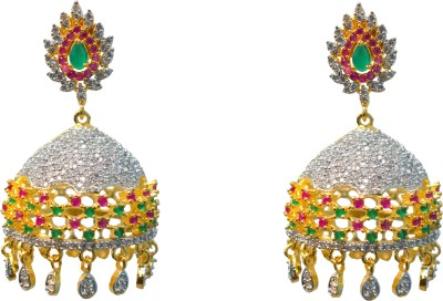 Jdj Imitation Jewelleris Light weight Jhumki Brass Jhumki Earring