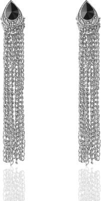 Castle Street Alluring Silver Alloy Tassel Earring